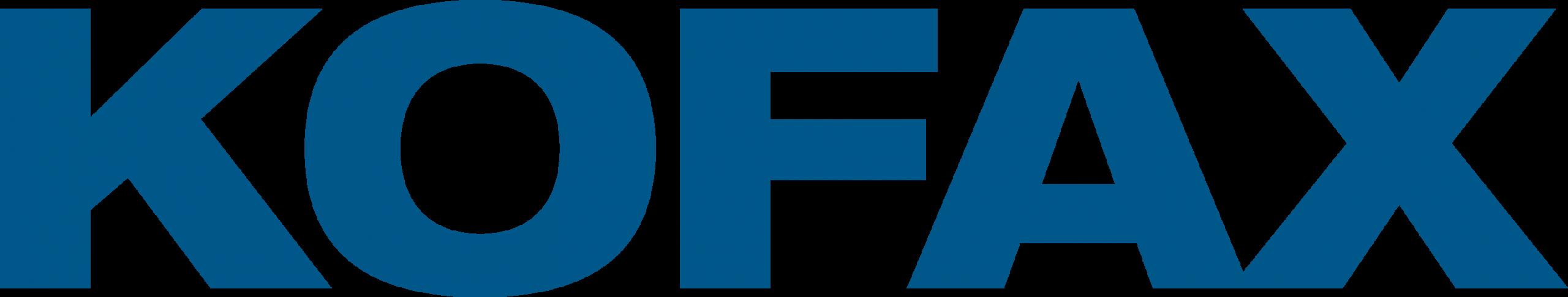Kofax Logo BLUE