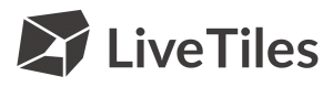 LiveTiles Logo Grey Horizontal